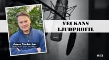 Veckans ljudprofil - Jonas Nordström