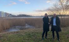 Riksbyggen förvärvar mark på Tullholmen i Karlstad av Coop Värmland