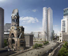STRABAG Real Estate legt Grundstein für Hochhaus UPPER WEST am Breitscheidplatz in Berlin