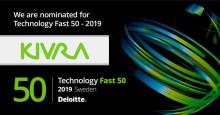 Kivra utsett till ett av Sveriges snabbast växande teknikföretag