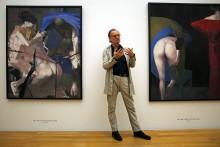 """Neue Ausstellung im Museum der bildenden Künste ehrt den """"Vater"""" der Neuen Leipziger Schule  - """"Arno Rink. Ich male!"""""""