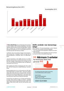 Svenskt Kvalitetsindex om Bemanningsbolag 2015