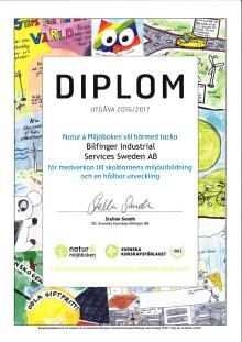 Bilfinger stödjer Sveriges största kunskapssatsning kring miljö och hållbarhet