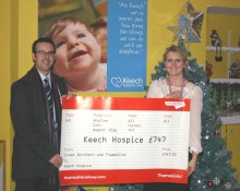 ​Thameslink and Great Northern choose Keech Hospice Care as corporate charity