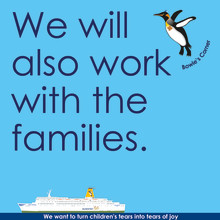 We will also work with the families.