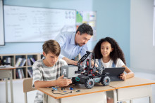 New RoboMaster EP Core Educational Robot Sparks Inspiration In The Classroom