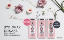 Nyhet! Leitz alkoholfria rosa bubblor på burk