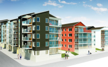 Klart för byggstart för Brf Viktoriastrand i Skellefteå