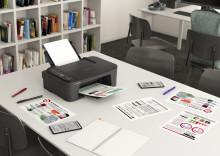 Forbedr din hjemmearbejdsplads med Canons nye kompakte og brugervenlige entry-level printer