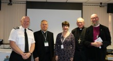 Merseyside Police holds a celebratory service to welcome its Chaplain