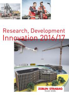 STRABAG und ZÜBLIN: Research, Development, Innovation (2016/2017)