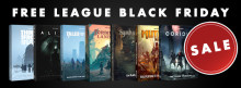 ​Free League Black Friday Sale – 50% OFF on Core Game Books!