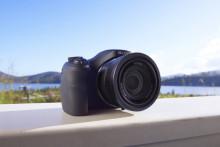 Kom helt tæt på med Cyber-Shot™ HX350 fra Sony - kompakt kamera med 50x super zoom