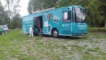 Biblioteksbussen fortfarande utan chaufför - står stilla tills vidare