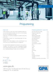 Prisjustering