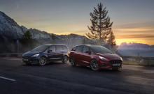Ford pokračuje v elektrifikační ofenzivě novými modely S-MAX Hybrid a Galaxy Hybrid