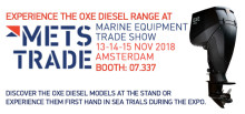 Experience the OXE Diesel range at METS TRADE