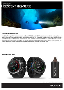 Datenblatt Garmin Descent Mk2_Mk2i