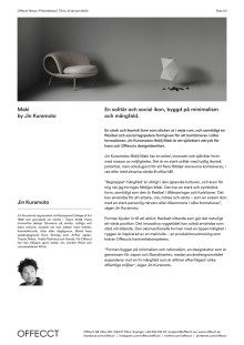 Offecct Press release Maki by Jin Kuramoto_SE