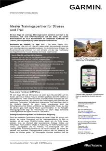 Idealer Trainingspartner für Strasse und Trail