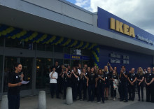 Ny sorts IKEA öppnade i dag på Enebyängen Handelsplats
