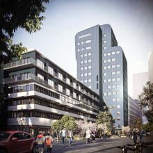 Betonmast Göteborg bygger kontor åt Stena Fastigheter i hjärtat av Göteborg