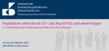 Newsletter KW 27 - Psychiatrie unter Druck (?) – Das PsychVVG und seine Folgen | DKI: Neue Vorstände | MEDICA/40. Deutschen Krankenhaustag