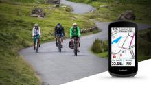 Neue Karten-Updates für Edge-GPS-Radcomputer von Garmin