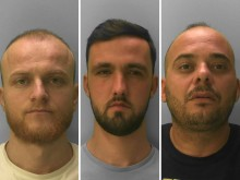 Three men jailed for 22 years following Eastbourne cocaine investigation