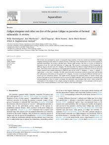 Aquaculture 522, 735160 Caligus review.pdf