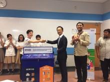 Epson Indonesia Tanamkan Pentingnya Pengelolaan Sampah kepada Pelajar