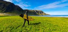Filmprosjekt om iskald nordisk surfing sammen med Samsung