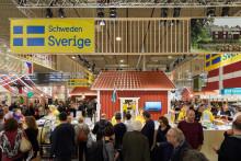 Sverige växer på matmässan Grüne Woche