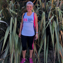 Mum runs for charity that supported her following near-fatal house fire