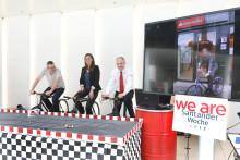 Fahrrad-Challenge:  2 000 Euro für einen guten Zweck