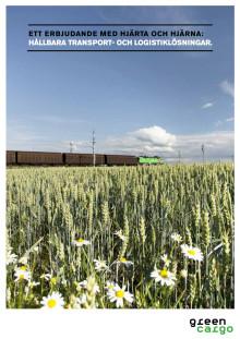 Green Cargo företagsbroschyr