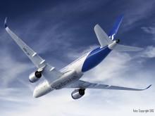 SAS hela flygplansflotta får ny design med färg från AkzoNobel