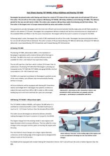 Historiens største flyordre i Europa: Norwegian køber 222 nye fly
