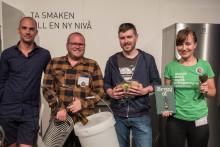 Klart vem som vann tävlingen om att brygga årets mässöl på Nolia Beer