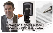 Norwegian - On Air avsnitt #7: CFO Geir Karlsen