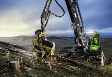 John Deere presenterar kranspetsstyrning för skördare