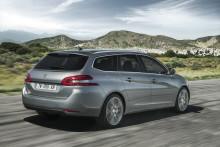 Nya Peugeot 308 SportWagon – ren körglädje i rymlig kombi