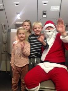 Julemanden flyver med Apollo en sidste gang