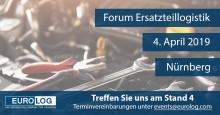 Forum Ersatzteillogistik 2019: EURO-LOG zeigt digitale Echtzeit-Distribution von Ersatzteilen