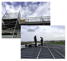 Hr Björkmans tar steget till solceller