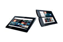 Alle Innovationen von Sony vereint in ihrer schönsten Form: Die Sony Tablets S und P