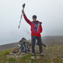 Local stroke survivor marks recovery with gruelling Peaks challenge