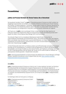 publitec wird Premium Distributor für Christie Pandoras Box in Deutschland
