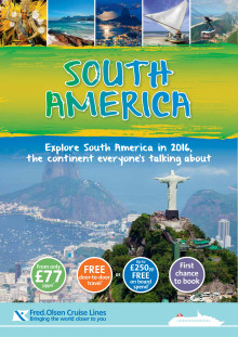 Sun, Sea and Samba await as Fred. Olsen Cruise Lines launches its 2016 'South America Explorer' cruise