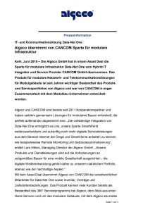 Algeco übernimmt von CANCOM Sparte für modulare Infrastruktur